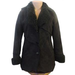 Utex heavy faux fur lining coat size Medium